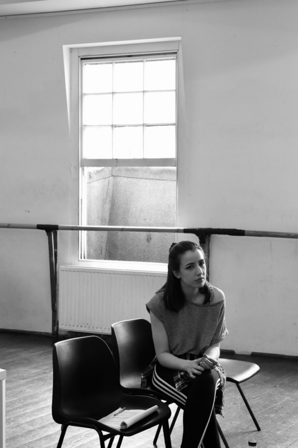 Molly Lynch in rehearsals for Rodgers and Hammerstein (& Me Too).