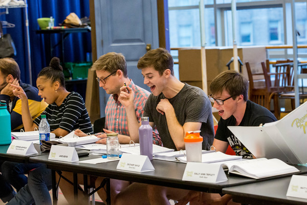 Jasmine Rogers, Stephen Ashfield, Jake Boyd, and Zachary Sayle  Photo