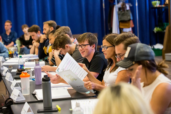 Photo Flash: In Rehearsal with the Cast of Alliance Theatre's BECOMING NANCY