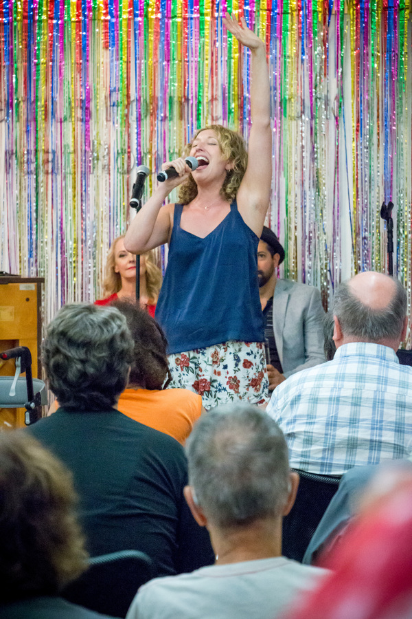 Photo Flash: Sing For Your Seniors Hosts Cast Members of THE PROM