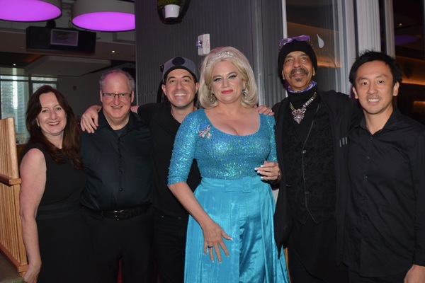 Mary Ann McSweeney, Eugene Gwozda, Will Nunziata, Cady Huffman, Steve Bargonetti and  Photo