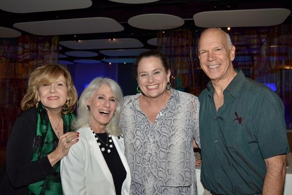 Brenda Vaccaro, Jamie deRoy, Cady Huffman and David Zippel Photo