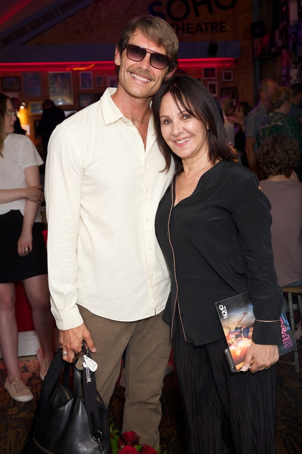 John Partridge & Arlene Phillips Photo