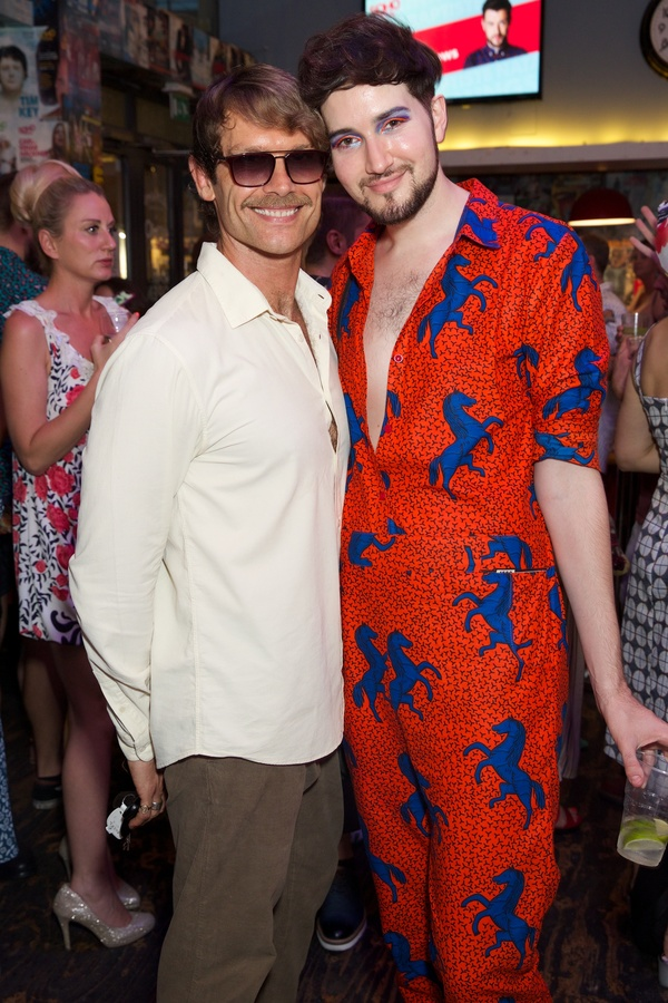 John Partridge & Max Vernon Photo