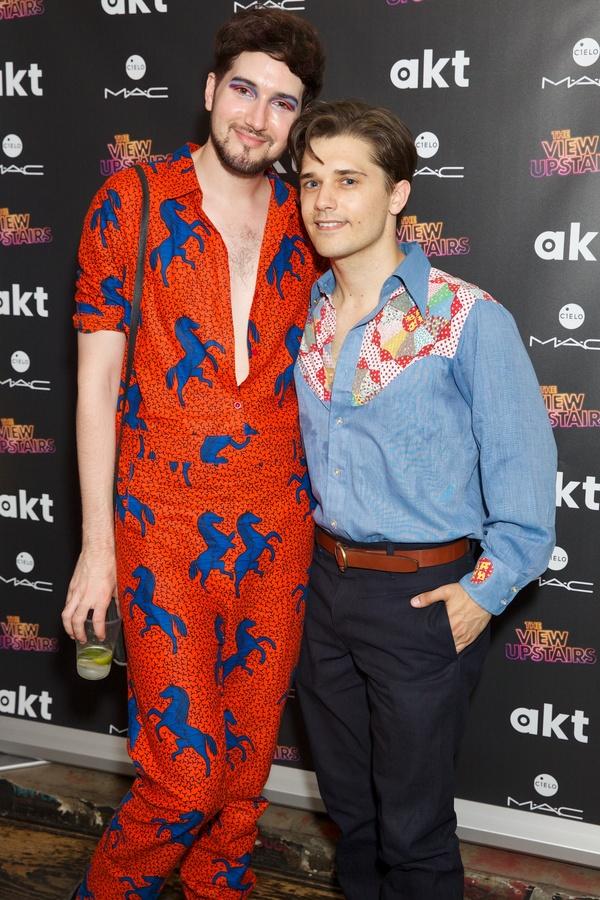 Max Vernon & Andy Mientus Photo