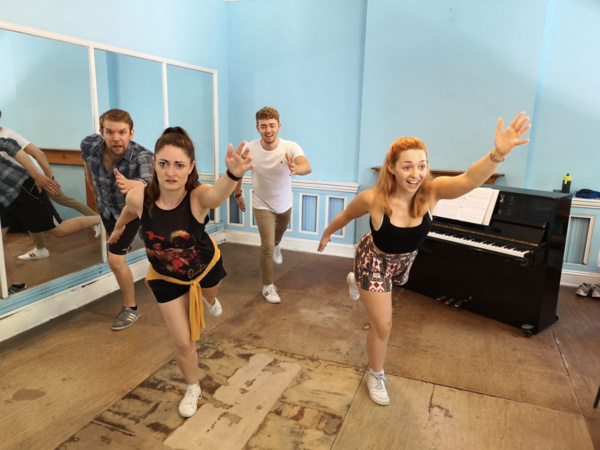 Photo Flash: New Rehearsal Photos From I WISH MY LIFE WERE LIKE A MUSICAL in Edinburgh