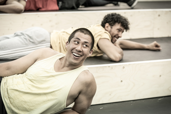 Photo Flash: Inside Rehearsal For EVITA at Regent's Park Open Air Theatre