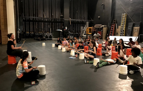 Photo Flash: The Palace Theatre's Triple Threat Performer Intensive Brings Broadway To Stamford For Local Youth