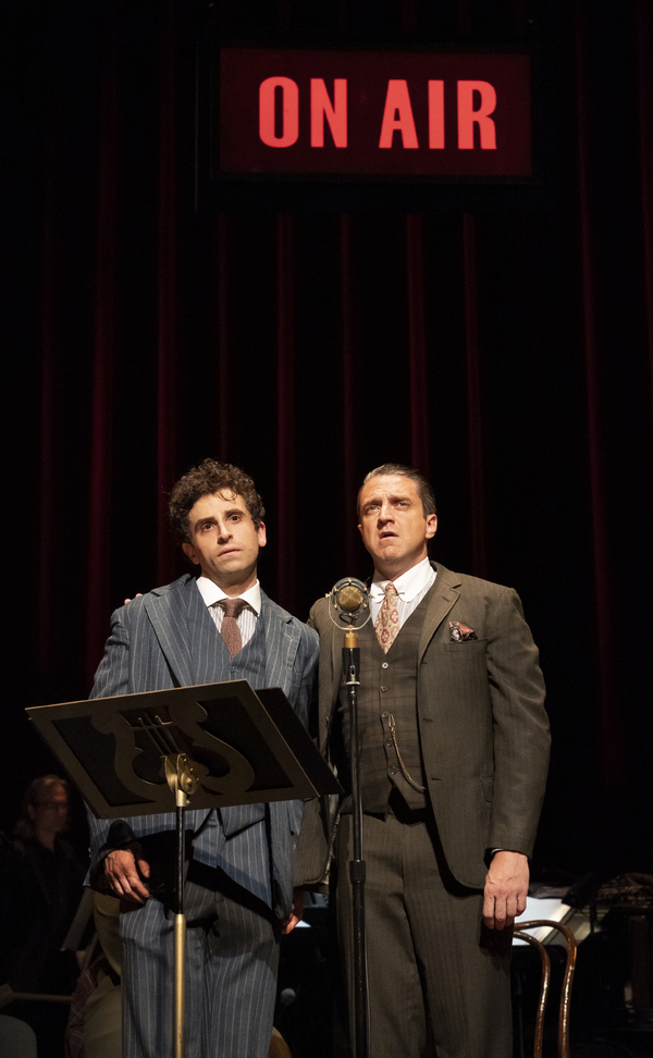 Brandon Uranowitz and Raul Esparza Photo