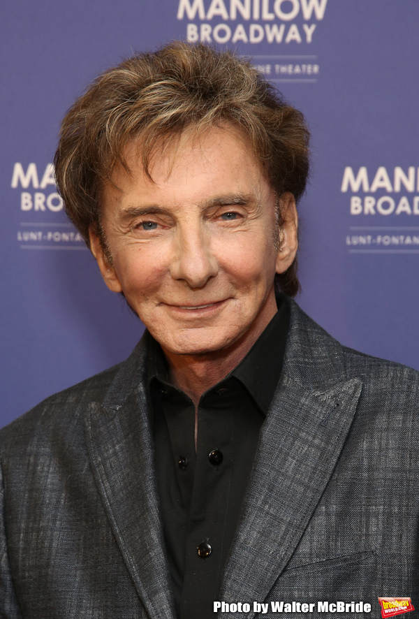 Photo Coverage: Barry Manilow Gets Ready for Broadway Return