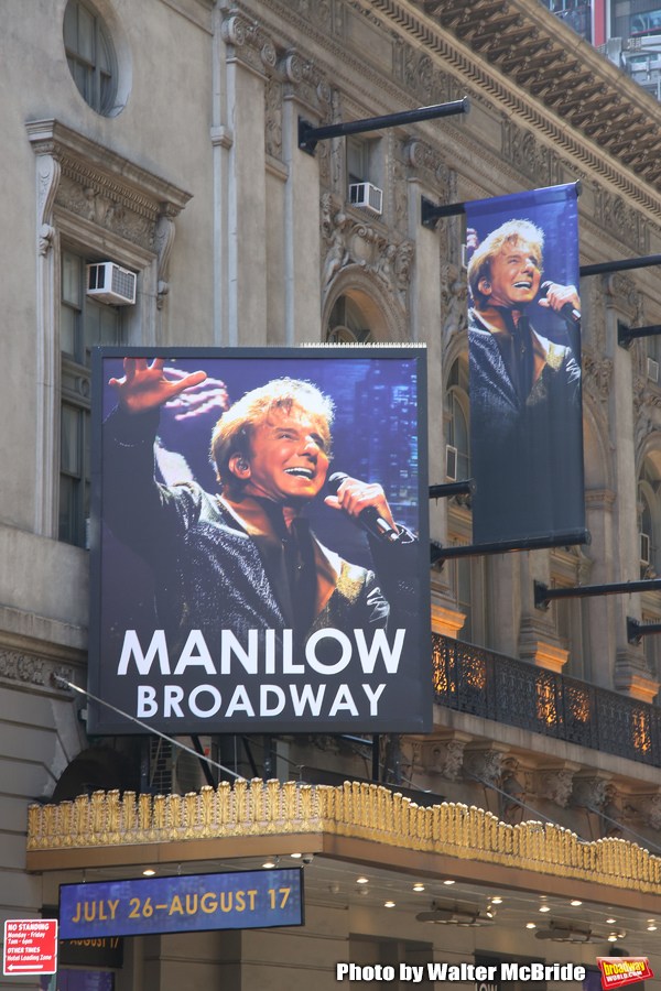 Up On The Marquee: MANILOW BROADWAY