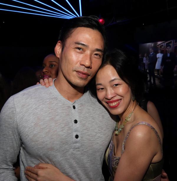 Grant Chang and Lia Chang  Photo by Garth Kravits