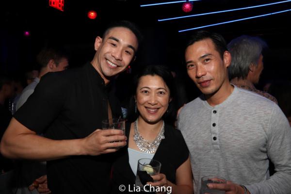 Roger Yeh, Yan Xi and Grant Chang Photo