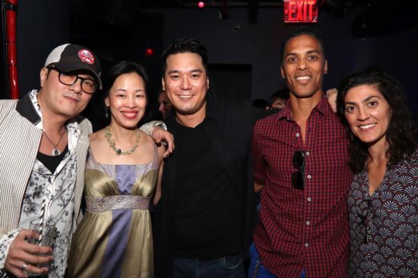 Shing Ka, Lia Chang, Patrick Chen, Taimak and a guest