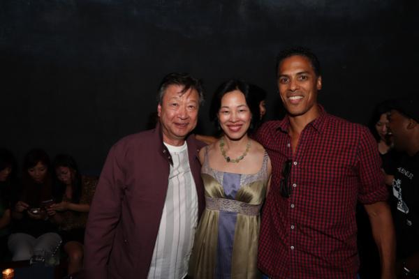 Tzi Ma, Lia Chang, Taimak. Photo by Garth Kravits