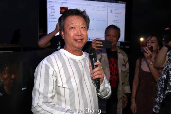 Photo Flash: Tzi Ma, Li Jun Li And Celia Au Celebrate Netflix's WU ASSASSINS Trailer Sneak Peek