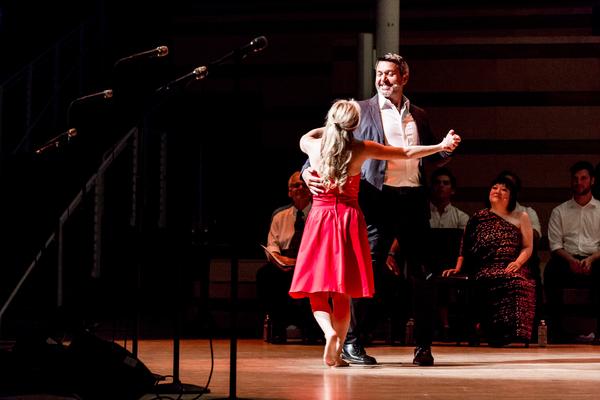 Christy Altomare and Nathan Gunn