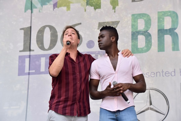 Photo Coverage: Ryann Redmond, Arielle Jacobs, and More Perform at Broadway in Bryant Park