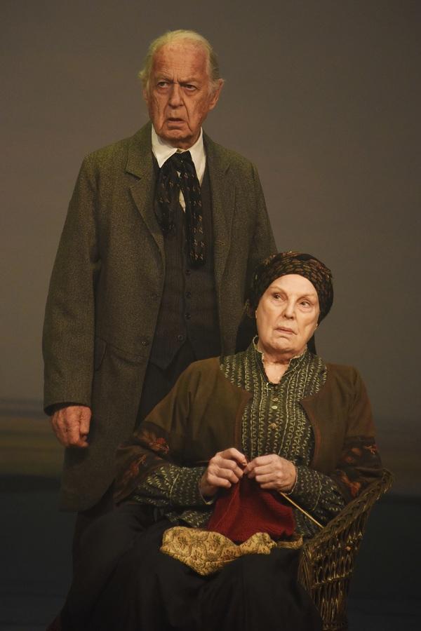 John Standing and Ann Mitchell