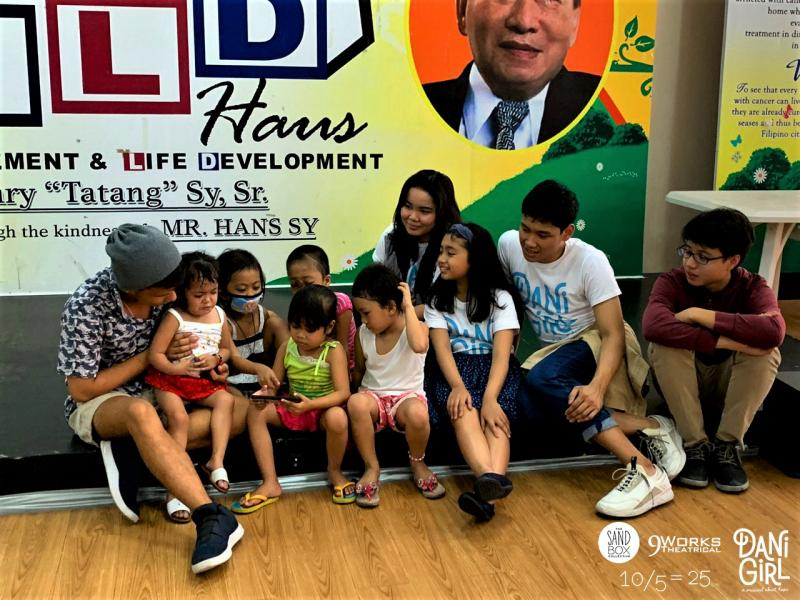 Photo Coverage: DANI GIRL Cast Visits Cancer-stricken Kids; Acclaimed Musical Returns Aug. 10