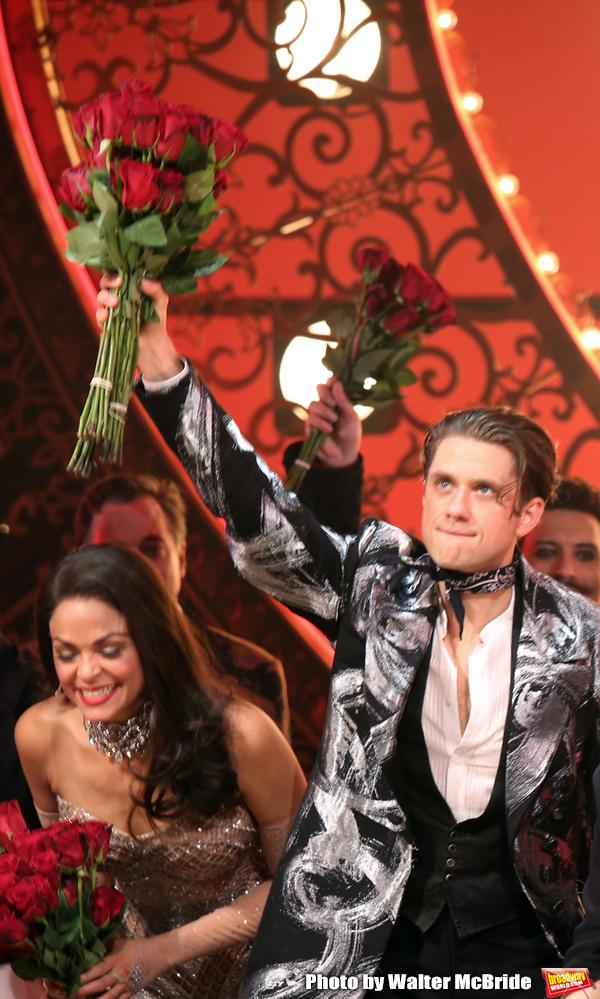 Karen Olivo and Aaron Tveit  Photo