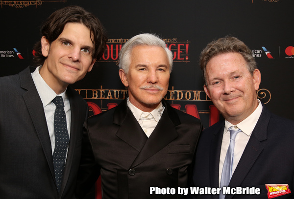 Alex Timbers, Baz Luhrmann and John Logan Photo