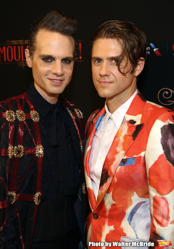 Jordan Roth and Aaron Tveit