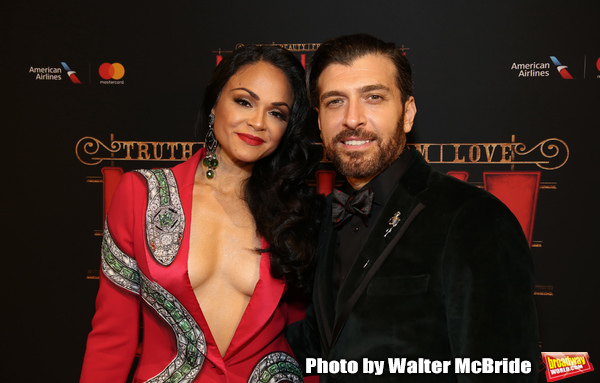 Karen Olivo and Tam Mutu Photo