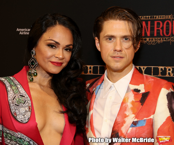 Karen Olivo and Aaron Tveit  Photo