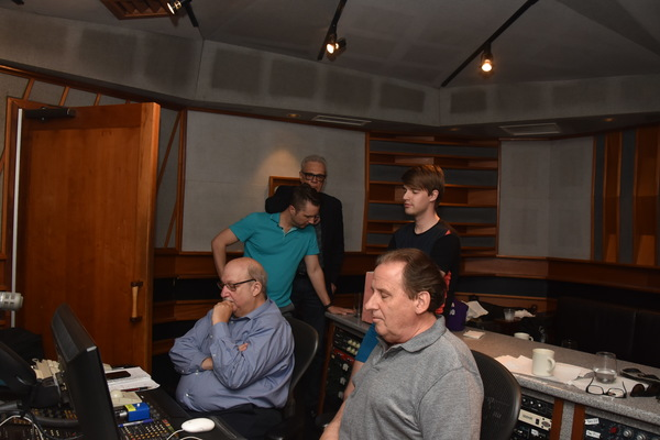Photos: Mark William Records 'Come Croon With Me'