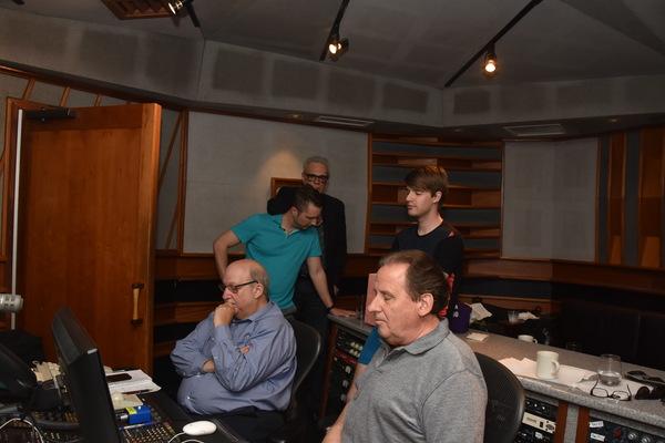 Ken Bloom, Lou Holtzman, Clint Edwards, Preston Ridge and Mark William Photo