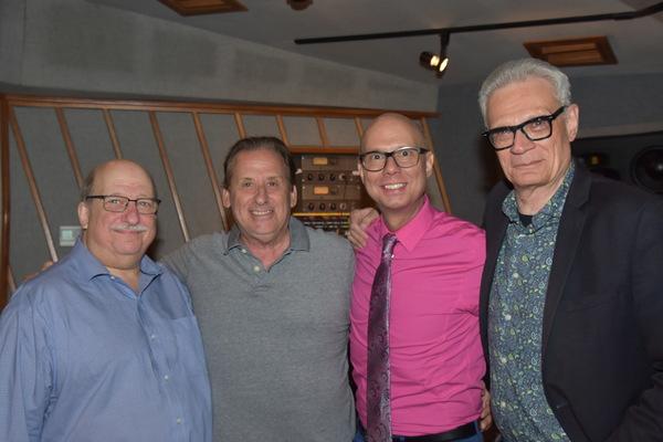 Ken Bloom, Lou Holtzman, Richie Ridge and Preston Ridge Photo