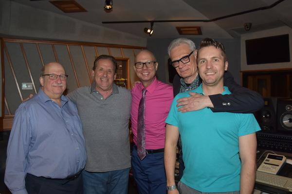 Ken Bloom, Lou Holtzman, Richie Ridge, Preston Ridge and Clint Edwards Photo