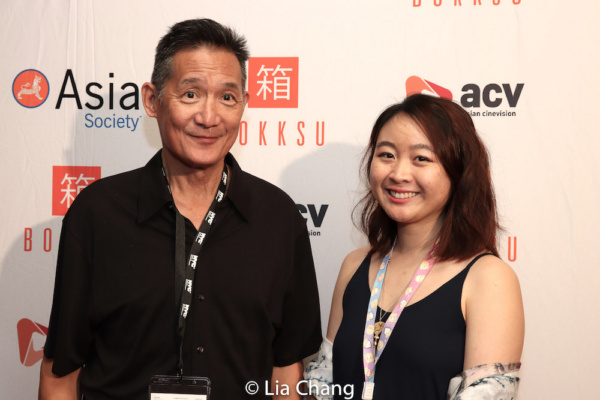 Asian Cinevision Executive Director John Woo and AAIFF42 Festival Director Kayla Wong Photo