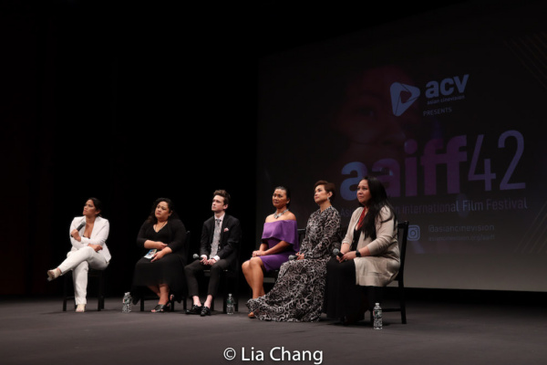 Diane Paragas, Cecilia R. Mejia, Liam Booth, Princess Punzalan, Lea Salonga, Christin Photo