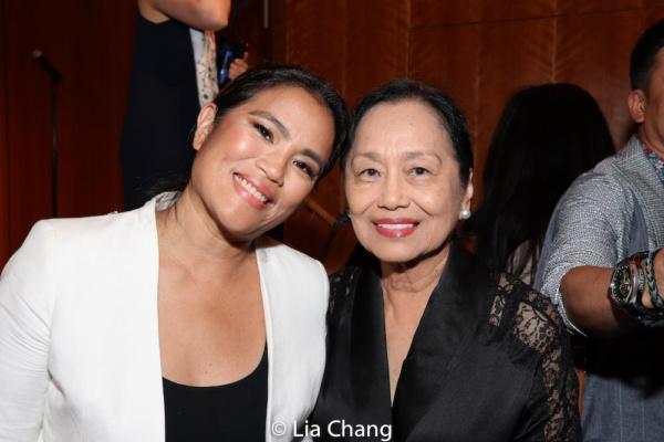 Photo Flash: Lea Salonga, Princess Punzalan, Jose Llana And More Celebrate At AAIFF42 Screening Of YELLOW ROSE