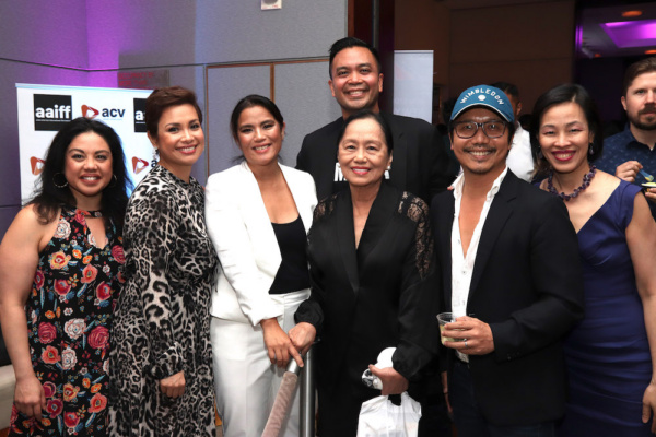 Maria-Christina Oliveras, Lea Salonga, Diane Paragas and her mother, Jose Llana, Victor Lirio and Lia Chang. Photo by Rona Reyes Sieh