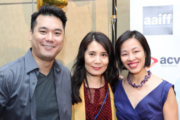 Patrick Chen, Fiona Fu and Lia Chang. Photo by Eric Elizaga