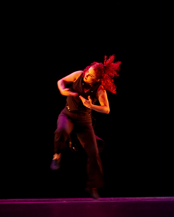 "Megan Jakel of Alvin Ailey Dance Theatre performing ""Ella"" choreographed by Robert Ba Photo"