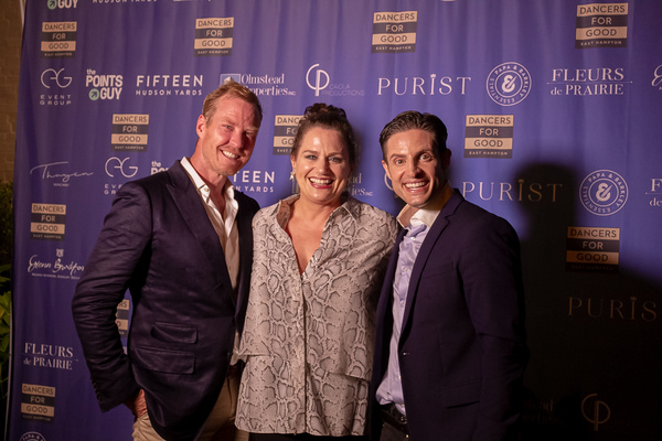Co-founders Eric Gunhus and Michael Apuzzo with Host Cady Huffman (center). Photo by Shin Kurokawa.