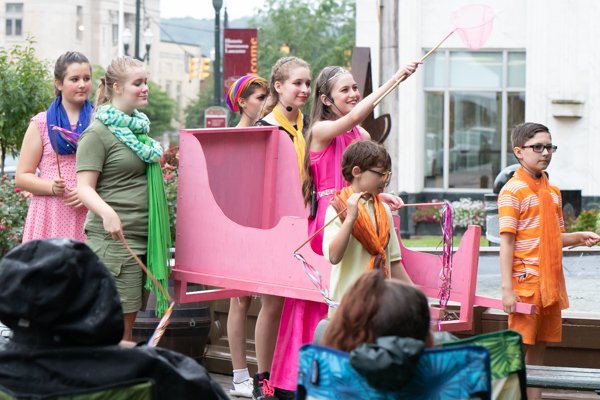 Photo Coverage: The Lancaster Playhouse Presents MY EMPERORS NEW CLOTHES by Larry Shue