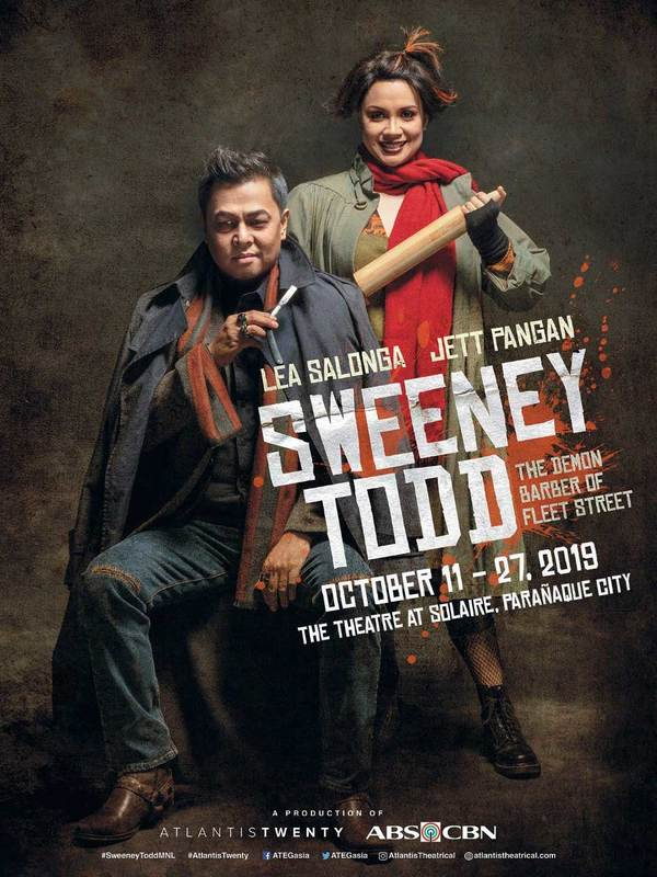 Photo Flash: First Look at Lea Salonga and Jett Pangan in SWEENEY TODD in the Philippines