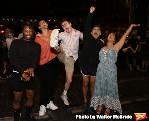 Broadway debuts: Olutayo Bosede, Caleb Marshall, Evan Kinnane, Jeigh Madjus and Karli Photo