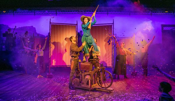 Alexandra Socha and the Company of ANNIE GET YOUR GUN