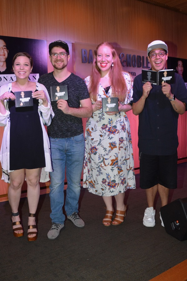Lauren Marcus, Charlie Rosen Jennifer Ashley Tepper and George Salazar
