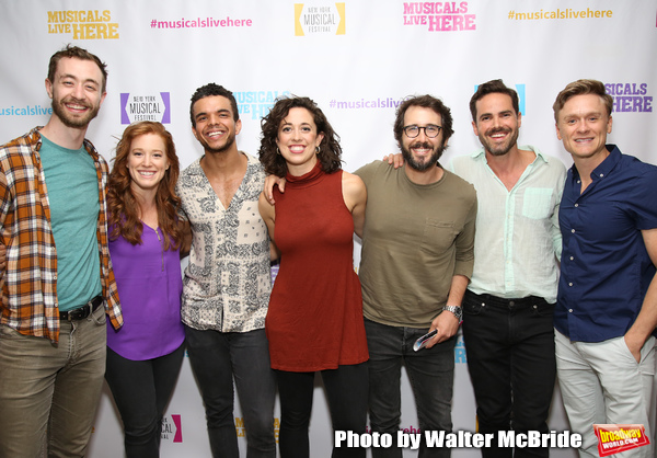 Photo Coverage: Backstage at ALIVE! THE ZOMBIE MUSICAL, Starring Amanda Jane Cooper, Zach Adkins, and More!