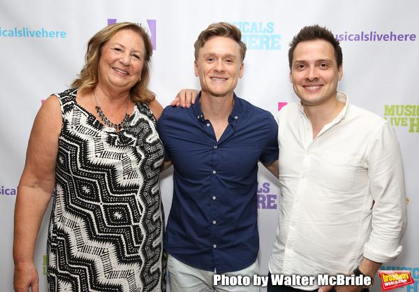 Barbara Chubb, Josh Canfield and David Ruttura Photo