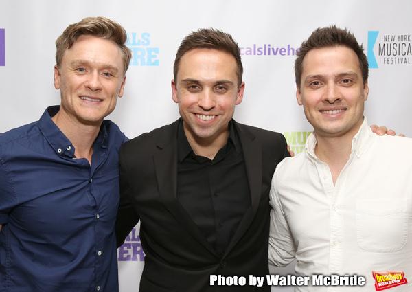Josh Canfield, Taylor Peckham and David Ruttura Photo