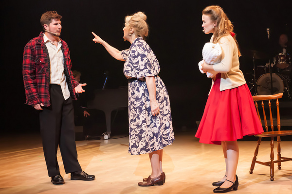 Lucas Popowich, Judy Marshak, Ellen Denny  COULD I HAVE THIS DANCE? - A new musical f Photo
