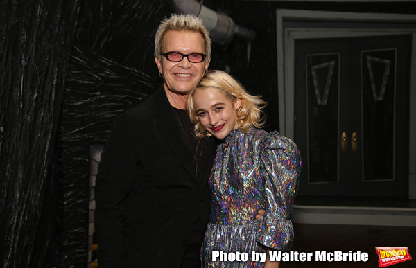 Exclusive Photo Coverage: Billy Idol Visits BEETLEJUICE